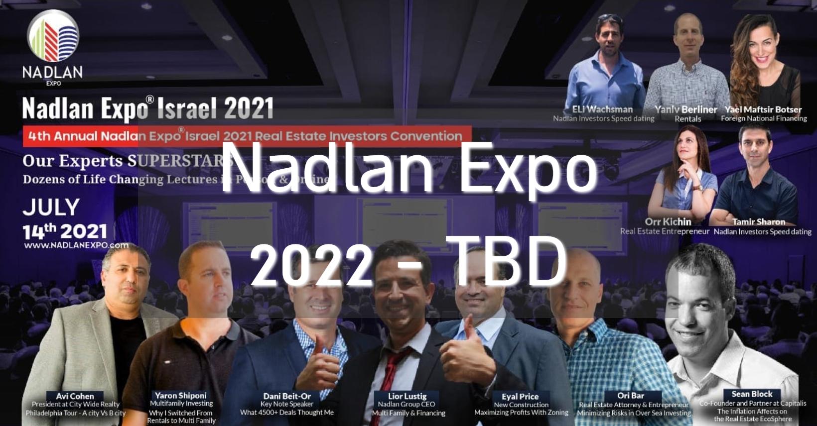 Nadlan Expo Israel 2021
